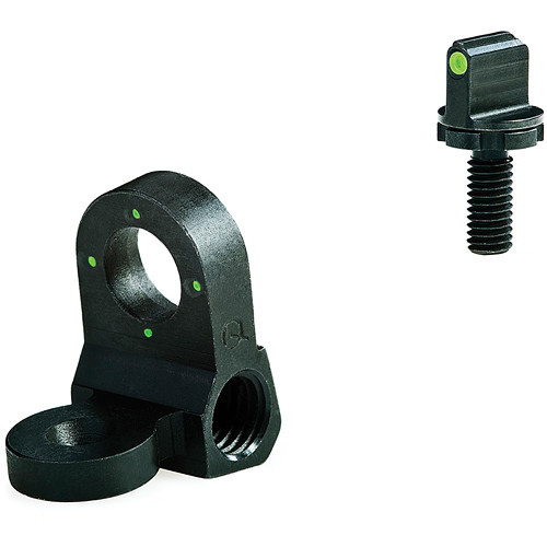 MEPROLIGHT LTD Tru-Dot Tritium Night Sight Set for AR-15 (Four Green Dots)
