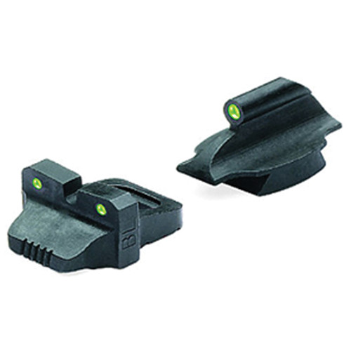 MEPROLIGHT LTD Tru-Dot Tritium Night Sight for Remington 870, 1100, 11-87 Pre-2010 (Set - Green/Green)