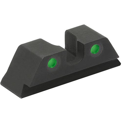 MEPROLIGHT LTD HVS Rear Sight for Glock 9mm/.357 SIG/.40/.40 GAP (Green)