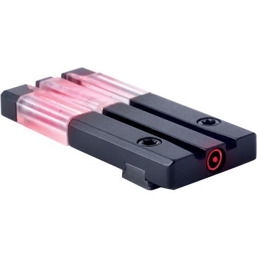 MEPROLIGHT LTD Fiber-Tritium Bullseye Circle-Dot Pistol Sight (Glock/Rear/Red)