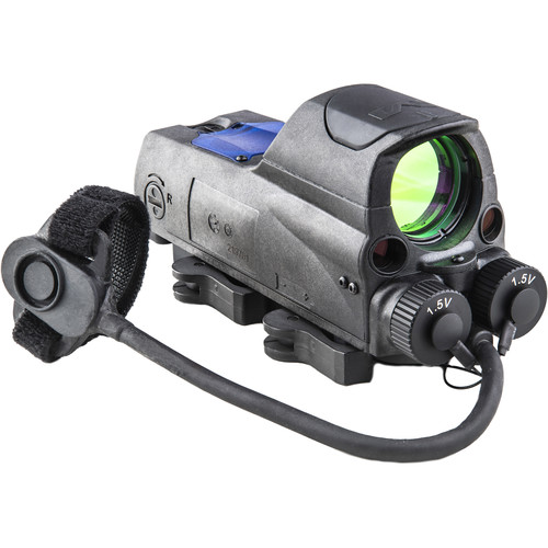 MEPROLIGHT LTD 1x30 MOR Pro Reflex Sight with Green/IR Lasers (Circle-Dot Reticle)