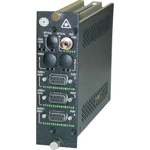 Meridian Technologies DT-1A1C2K/2K-5ST DigiFlex Laser-Based Single-Mode Transmitter (1,310/1,550 nm) with ST Optical Connector
