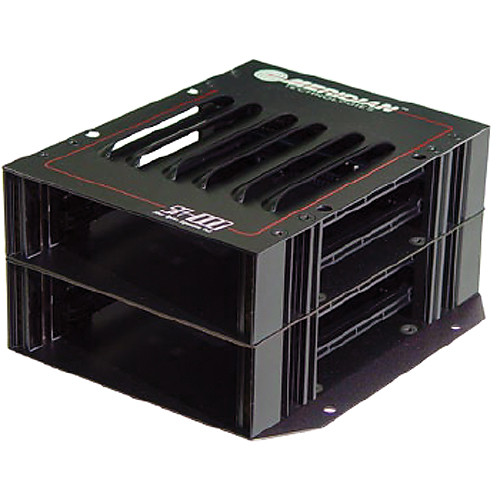 Meridian Technologies SR-1450/S Universal Standalone 4-Slot Subrack Frame with Power Supply