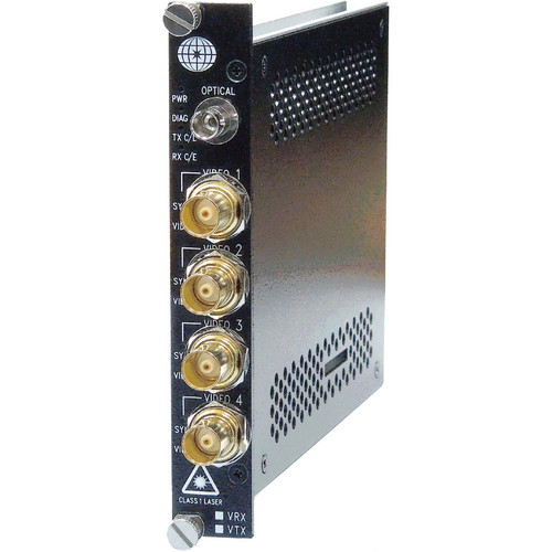 Meridian Technologies ST-4HG-51/57ST 4-Channel Multi-Rate SDI/HD-SDI/3G Video Transmitter