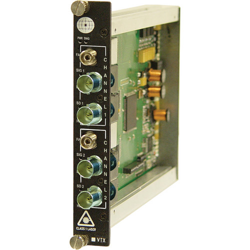Meridian Technologies SX-1HG-3FC 1-Channel Bi-Directional Video Transmitter