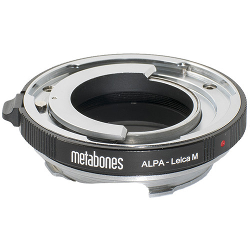 Metabones Alpa Lens to Leica M-Mount Camera Adapter with 6-Bit Coding
