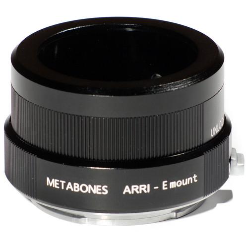 Metabones Arriflex Standard Mount Lens to Sony NEX Camera Lens Mount Adapter (Black)