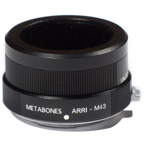Metabones Arriflex Standard Lens to Micro Four Thirds Camera Lens Adapter (Black)