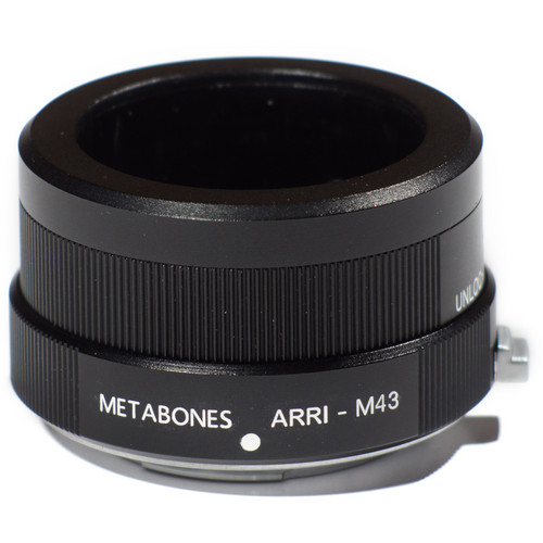 Metabones Arriflex Standard Lens to Micro Four Thirds Lens Mount Adapter (Black)