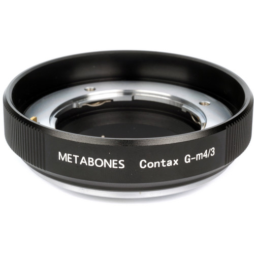 Metabones Contax G Mount Lens to Micro Four Thirds Lens Mount Adapter (Black)