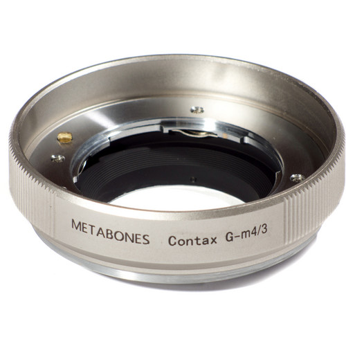 Metabones Contax G Mount Lens to Micro Four Thirds Lens Mount Adapter (Gold)