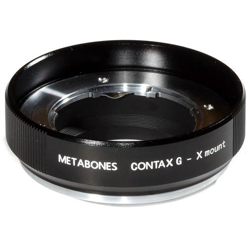 Metabones Contax G Mount Lens to Fujifilm X-Mount Camera Lens Mount Adapter (Black Matte)