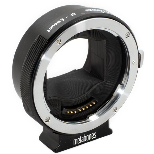 Metabones Canon EF Lens to Sony NEX Camera Lens Mount Adapter III (Black)