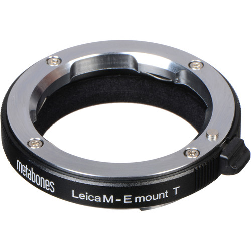 Metabones Leica M Lens to Sony E-Mount Camera T Adapter (Black)