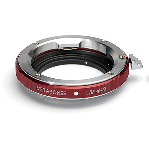 Metabones Leica M Lens to Micro Four Thirds Camera Mount Adapter (Red)