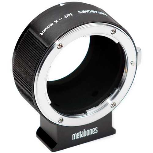 Metabones Nikon F Lens to Fujifilm X-Mount Camera T Adapter (Black)
