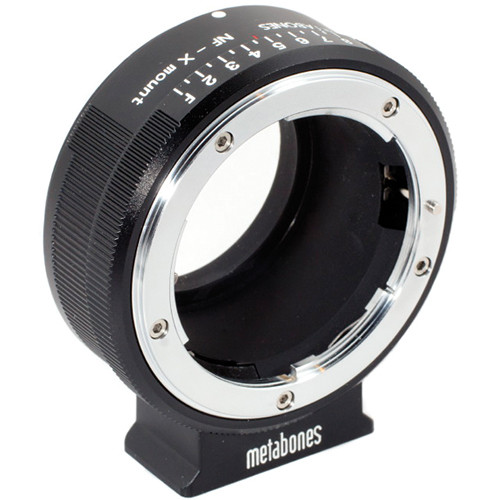 Metabones Nikon G Lens to Fujifilm X-Mount Camera Lens Mount Adapter (Matte Black)