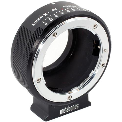 Metabones Nikon G Lens to Fujifilm X-Mount Camera Lens Mount Adapter (Matte Black)