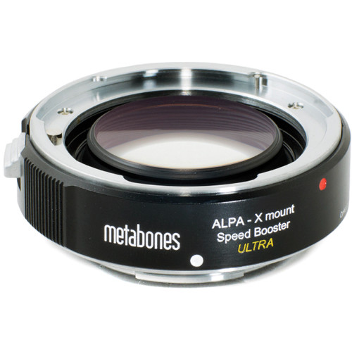 Metabones ALPA Lens to Fujifilm X-Mount Camera Speed Booster ULTRA