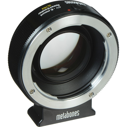 Metabones Contax Yashica Lens to Sony E-Mount Camera Speed Booster ULTRA