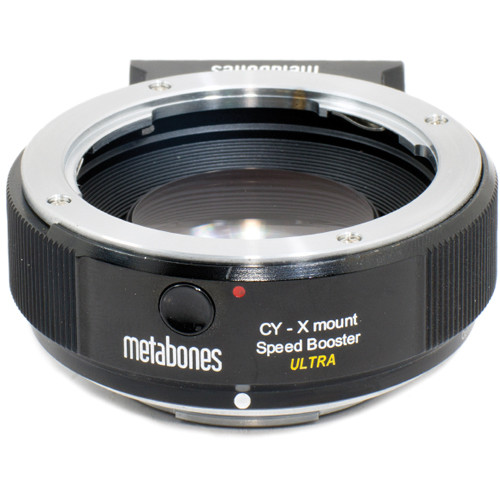 Metabones Contax Yashica Lens to Fujifilm X-Mount Camera Speed Booster ULTRA