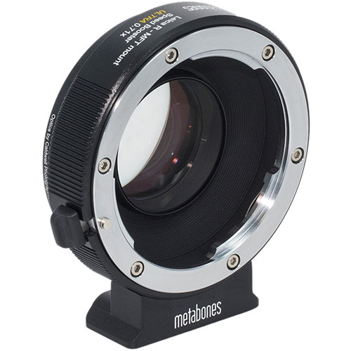 Metabones Speed Booster Ultra 0.71x Adapter for Leica R-Mount Lens to Micro Four Thirds-Mount Camera