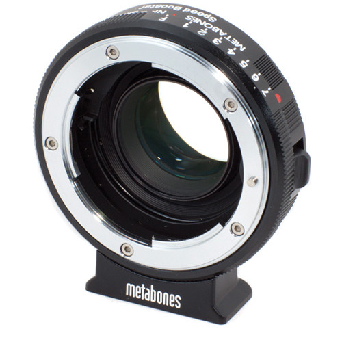 Metabones Nikon G Lens to Blackmagic 2.5k Cinema Camera with Micro-4/3 Mount Speed Booster