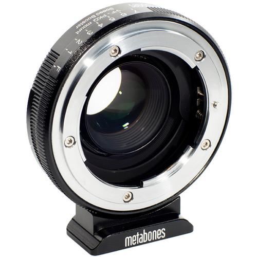 Metabones Nikon G-Type F Lens to Pentax Q-Mount Camera 0.5x Speed Booster