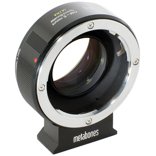 Metabones Olympus OM Lens to Sony E-Mount Camera Speed Booster ULTRA