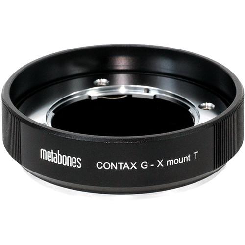 Metabones Contax G Lens to FUJIFILM X-Mount Camera T Adapter (Black)