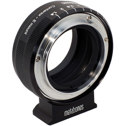 Metabones Contarex Mount Lens to Sony NEX Camera Lens Mount Adapter (Black)
