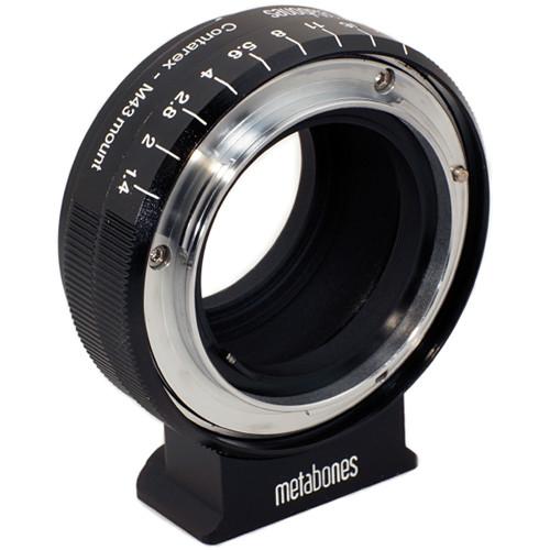 Metabones Contarex Lens to Micro Four Thirds Camera Lens Adapter (Black)