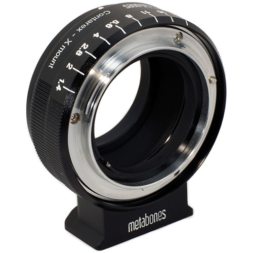 Metabones Contarex Mount Lens to Fujifilm X-Mount Camera Lens Mount Adapter (Black Matte)