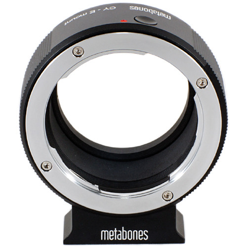 Metabones Contax Yashica Mount Lens to Sony NEX Camera Lens Mount Adapter (Black)