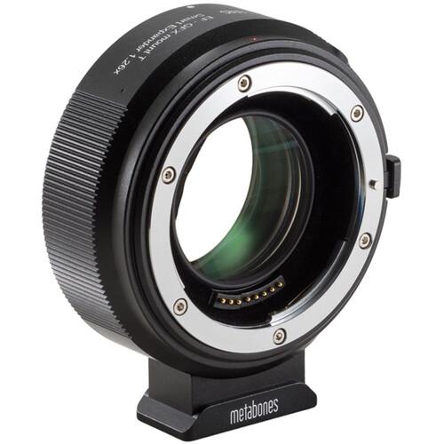 Metabones 1.26x Expander for Canon EOS EF Lens to FUJIFILM G-Mount GFX Camera