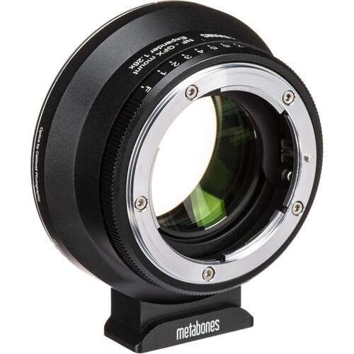 Metabones 1.26x Expander for Nikon F-Mount, G-Type Lens to FUJIFILM G-Mount GFX Camera