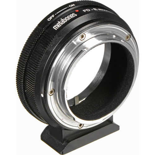 Metabones Canon FD Lens to Sony E-Mount Camera T Adapter (Black)