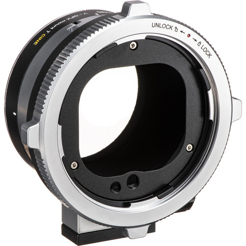 Metabones T CINE Adapter for Hasselblad V-Mount Lens to FUJIFILM G-Mount GFX Camera