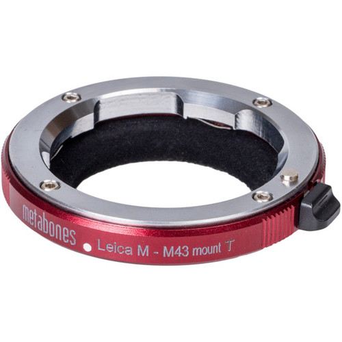 Metabones Leica M-Mount Lens to Micro Four Thirds Camera Lens Adapter (Red)