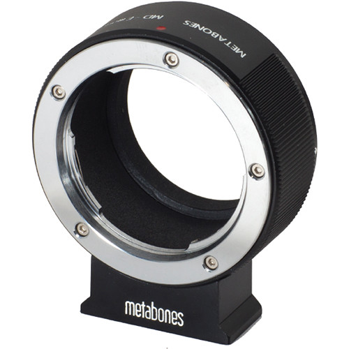 Metabones Minolta MD Mount Lens to Sony NEX Camera Lens Mount Adapter (Black)