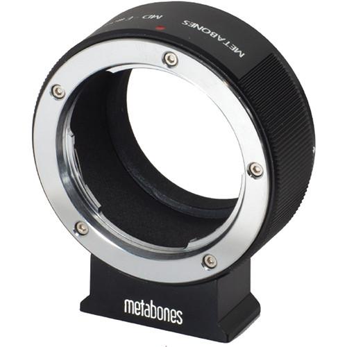Metabones Minolta MD Mount Lens to Sony NEX Camera Lens Mount Adapter (Black)