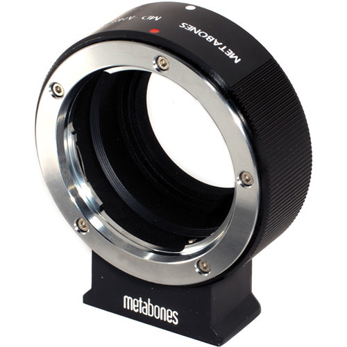 Metabones Minolta MD Mount Lens to Micro Four Thirds Lens Mount Adapter (Black)