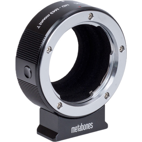 Metabones Minolta MD Lens to Micro Four Thirds Camera T Adapter (Black)