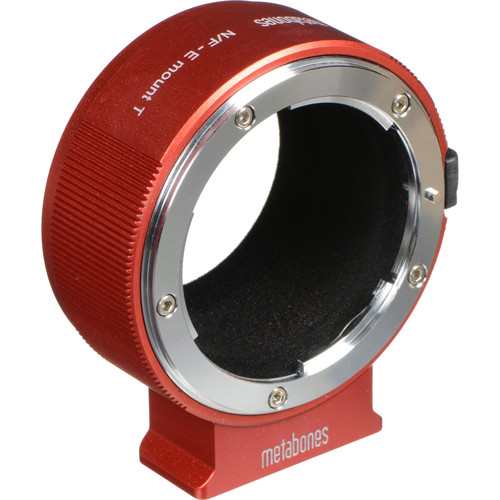 Metabones Nikon F Lens to Sony E-Mount Camera T Adapter II (Red)