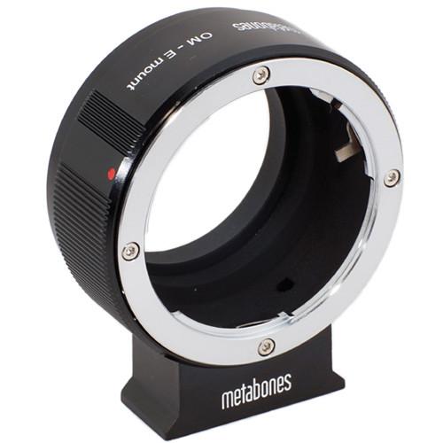 Metabones Olympus OM Mount Lens to Sony NEX Camera Lens Mount Adapter (Black)