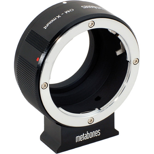 Metabones Olympus OM Mount Lens to Fujifilm X-Mount Camera Lens Mount Adapter (Black Matte)