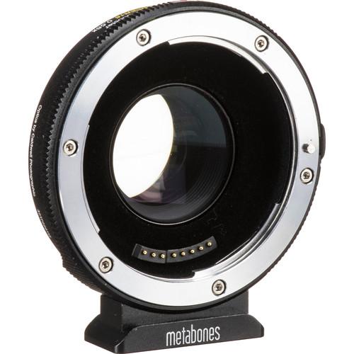 Metabones Canon EF to MFT T Lens Adapter 0.58x for Blackmagic Design Super 16 Cameras (Black)