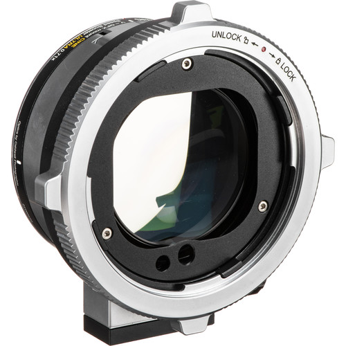 Metabones CINE Speed Booster Ultra 0.71x Adapter for Hasselblad V-Mount Lens to FUJIFILM G-Mount GFX Camera