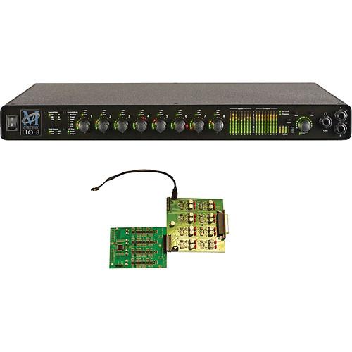Metric Halo LIO-8 Line-Level Digital Audio Processor with 4 Preamps