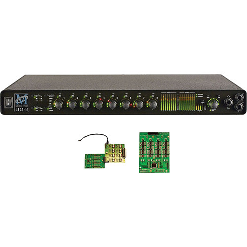 Metric Halo LIO-8 Line-Level Digital Audio Processor with 8 Preamps